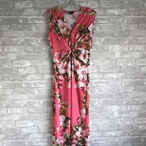 IMAN Women's Floral Maxi Dress Size Small